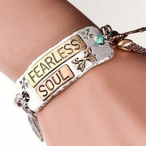 Jewelry - Fearless Soul Boho Bracelet New